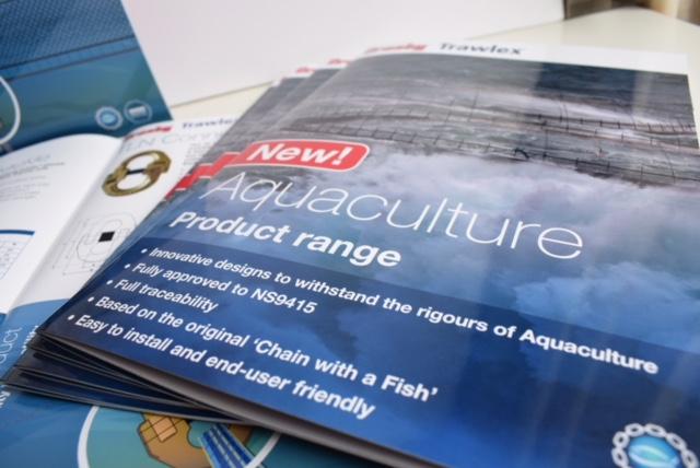 Aquaculture brochure design
