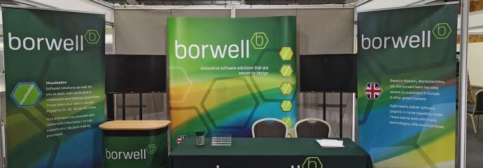 Exhibition material for borwell