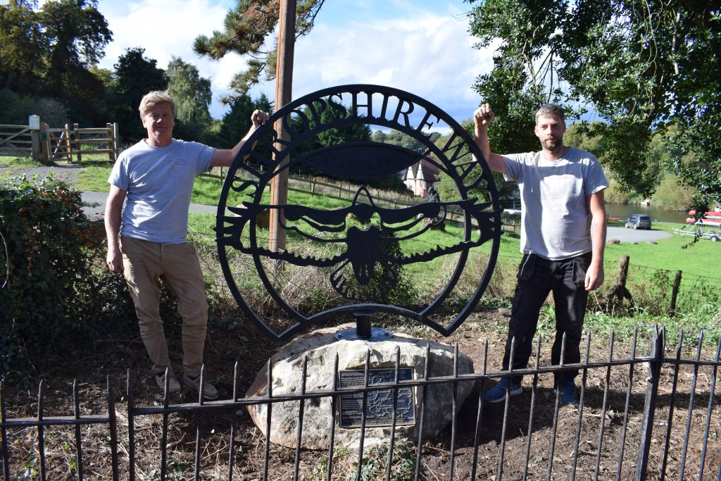 Shropshire Way Sculpture Installation